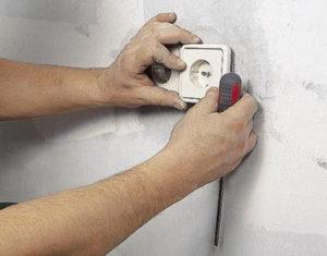 установка замена розеток выключателей Гомель