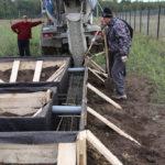 заливка монтаж фундамента Минск